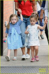 Exclusive - SJP Treats The Twins To Ice Cream & A Day At The Park
