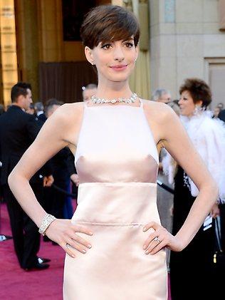 Anne Hathaway's nipples